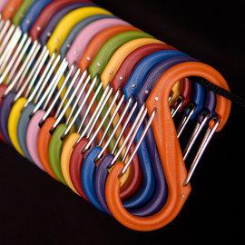 【鄉野情戶外用品店】 Nite Ize |美國|  S-BINER 4號塑膠S型雙面扣環/NI SBP4-03