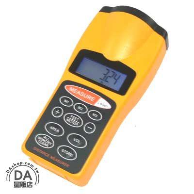 《DA量販店》超音波 測距儀 可測量長度/面積/體積 有螢幕背光/含雷射瞄準 (22-153)