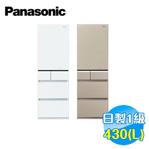 國際 Panasonic 430公升頂級ECONAVI五門變頻冰箱 NR-E431VG