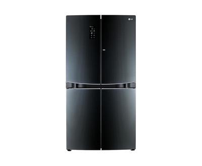LG 870公升鏡面曲面對開冰箱 GR-DBF80G ◆高貴黑◆105/6/30前兌換送LG吸塵器