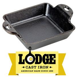 【鄉野情戶外用品店】 Lodge |美國| 迷你方形鑄鐵焗烤盤/煎鍋 荷蘭鍋 鑄鐵鍋/LMSS