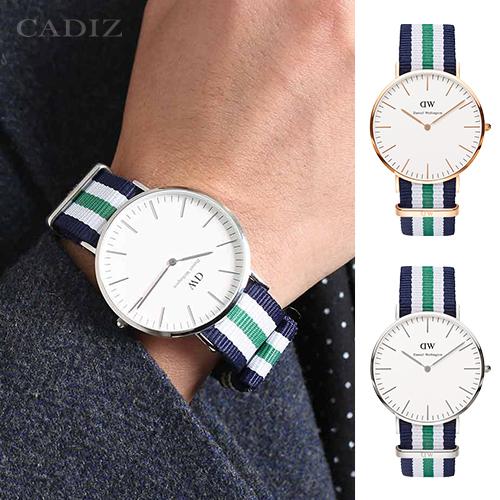 【Cadiz】瑞典DW手錶Daniel Wellington 0108DW玫瑰金 0208DW銀 Nottingham 40mm [代購/ 現貨]