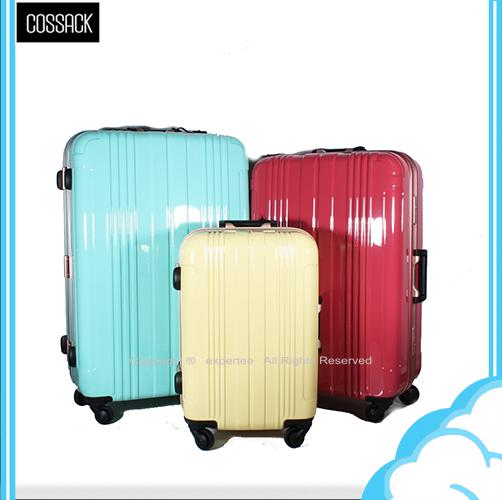 【騷包館】COSSACK 29吋 PC糖果色系列 日本靜音輪鋁框旅行箱 三色 CS11-2026029