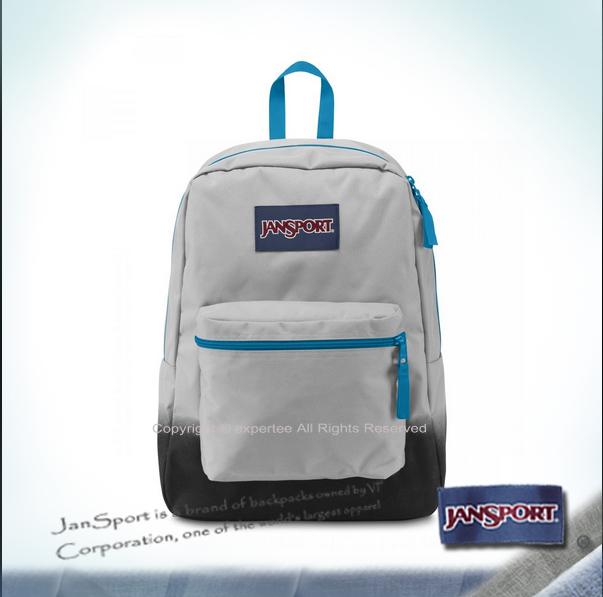【騷包館】JANSPORT美國專櫃品牌 特殊帆布後背包 漸層灰 JS-43117J0BY