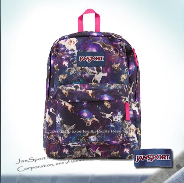 預訂【騷包館】JANSPORT專櫃 輕型校園後背包 喵星人 JS-43501J09V