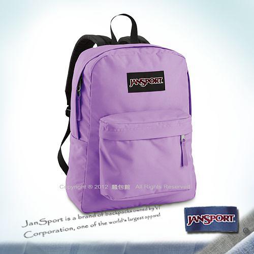 請先詢問庫存【騷包館】JANSPORT專櫃 輕型校園後背包 粉嫩紫 JS-43501J9EY