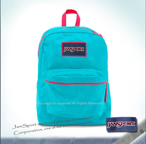 【騷包館】JANSPORT專櫃 限定款亮眼撞色後背包 藍色小精靈 JS-43502J0CU