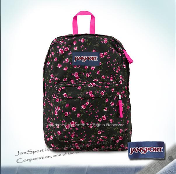 【騷包館】JANSPORT專櫃 輕型校園後背包 小玫瑰 JS-43501J0AK