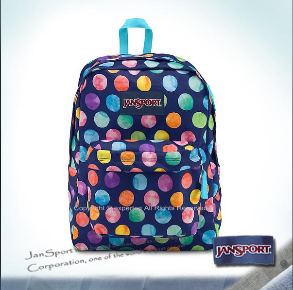 【騷包館】JANSPORT專櫃 輕型校園後背包 糖果屋 JS-43501J0AN