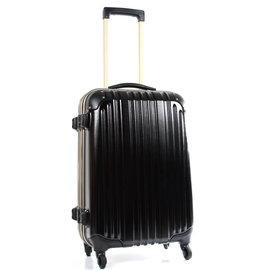 【戰車 commodore 9809】24吋 TSA硬殼霧面防刮旅行箱 尊爵黑 CO-9809-24