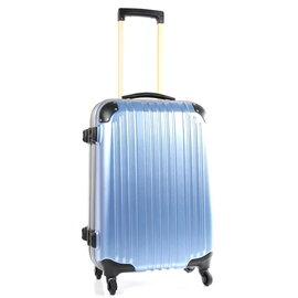 【戰車 commodore 9809】27吋 TSA硬殼霧面防刮旅行箱 海洋藍  CO-9809-27
