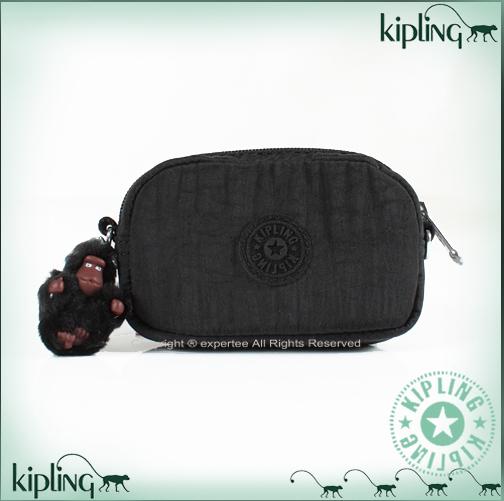 【騷包館】【Kipling】2GO系列 超可愛外出迷你小包 黑色37999-3223-089
