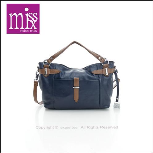 【騷包館】【Miss Mix 】甜美時尚 皇后城肩背兩用包 藍 M88-005-BU