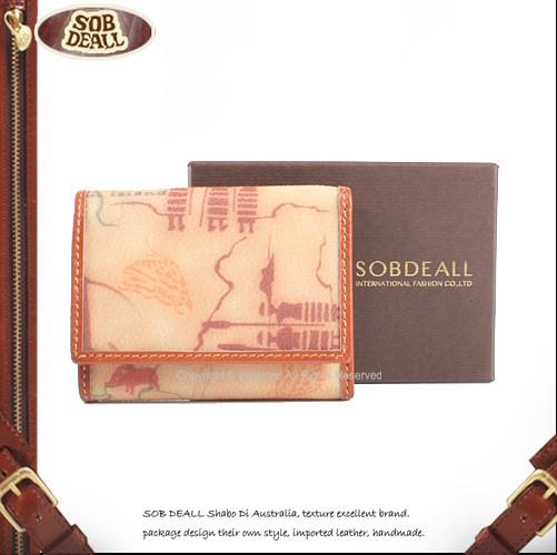 【騷包館】SOB DEALL 福爾摩沙人文圖系列 後零錢袋短夾 20573005803