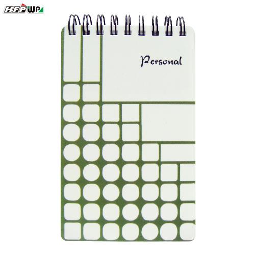 HFPWP 個人風 口袋型筆記本100張內頁附索引尺台灣製 PGN3351 / 本