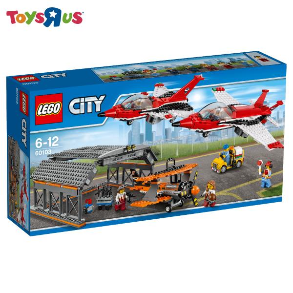 玩具反斗城 樂高 LEGO  機場航空表演-60103***
