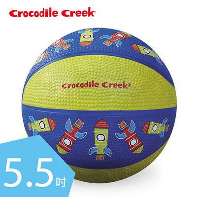 【悅兒園婦幼生活館】美國 Crocodile creek 5.5吋兒童運動遊戲籃球-火箭(14.5cm)