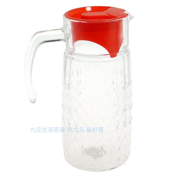 【九元生活百貨】GH-306玻璃冷水壺/1.1L 玻璃水壺
