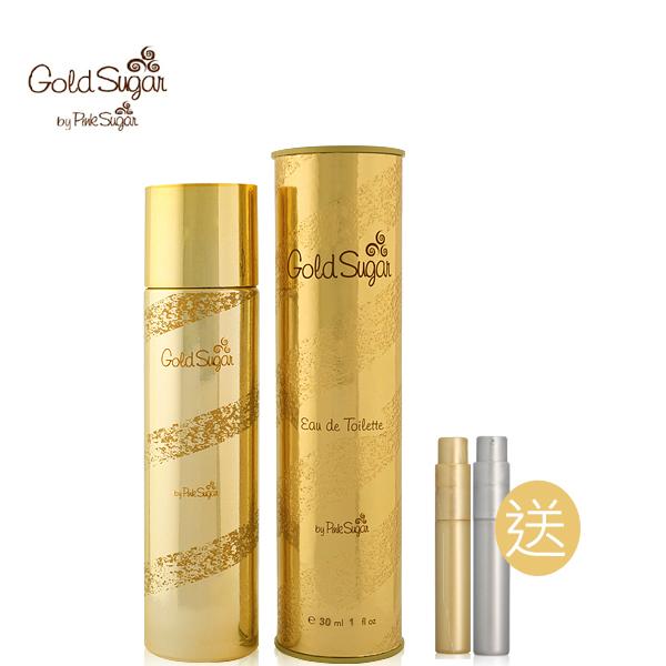 Aquolina gold sugar 金磚銀塊女性淡香水30ml再送品牌針管香水2入