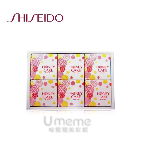 SHISEIDO資生堂潤 紅蜂蜜香皂禮盒(新包裝) 6個入  《Umeme》