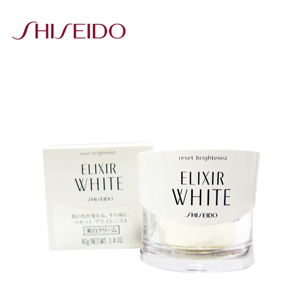 SHISEIDO 資生堂ELIXIR WHITE淨白肌密活凝霜 40g