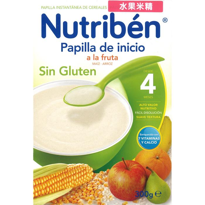 Nutriben貝康 - 水果米精 300g