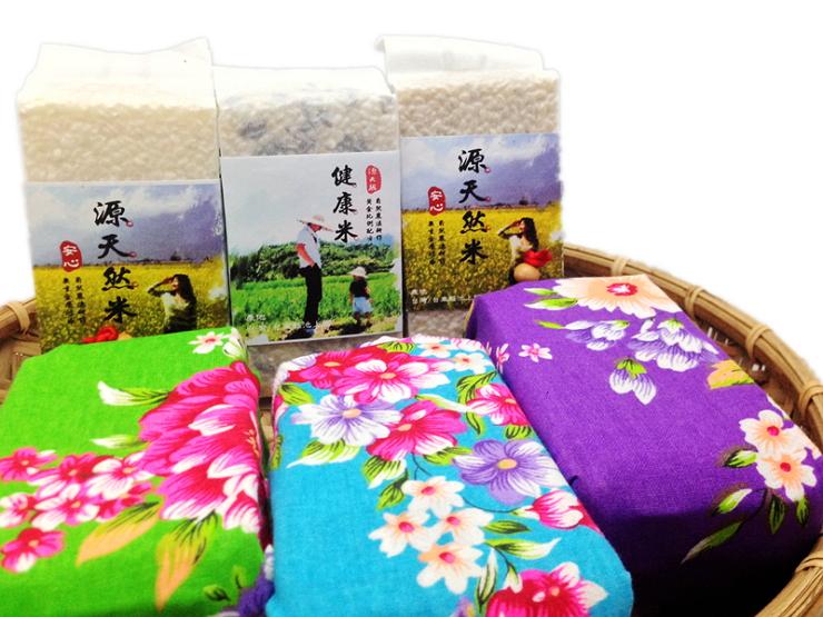 【源天然池上米】喜事稻禮包-池上白米300g裝