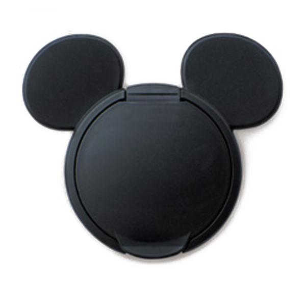 ★衛立兒生活館★日本 迪士尼 Disney 米奇重覆黏貼濕紙巾專用盒蓋/濕巾蓋-黑