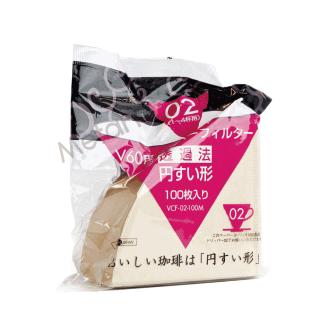 【Metart形而上】HARIO  無漂白錐型濾紙V02/100入