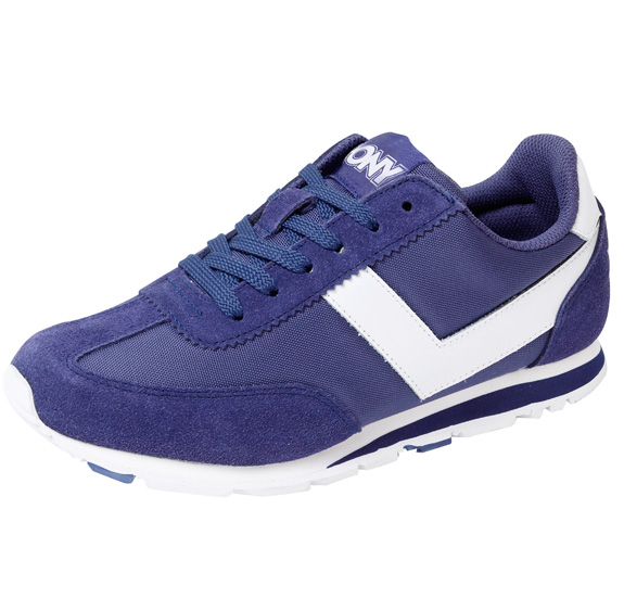 [陽光樂活] PONY SOHO EASY MOVE (女) 類阿甘鞋 復古休閒慢跑鞋 61W1SO72DB 深藍