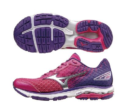 【登瑞體育】MIZUNO 女慢跑鞋 WAVE RIDER19 - J1GD160603