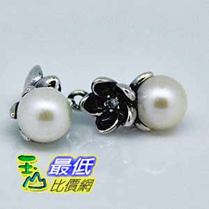 [COSCO代購如果沒搶到鄭重道歉] Pandora 珍珠花形耳環 _W106448