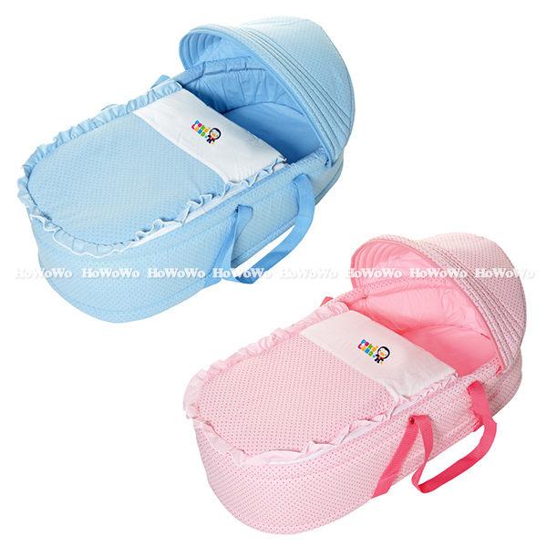 藍色企鵝 PUKU 印花睡箱 提藍 嬰兒床 30902