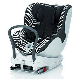 【淘氣寶寶】Britax - DUALFIX 旗艦型360度雙向ISOFIX 0-4歲汽車安全座椅(汽座) -斑馬色