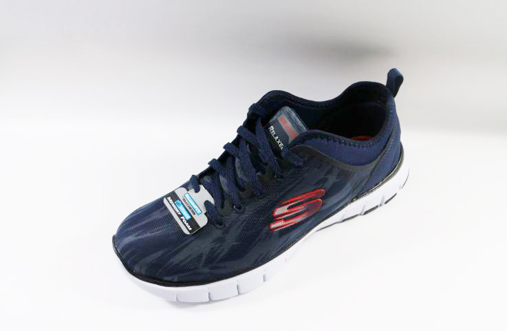 [陽光樂活]Skechers(男)Relaxed Fit Skech-Flex Hitting Streak-51446NVRD