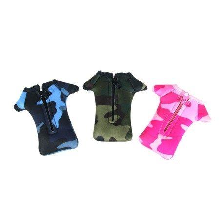 迷彩T恤型手機套1入(顏色可任選)