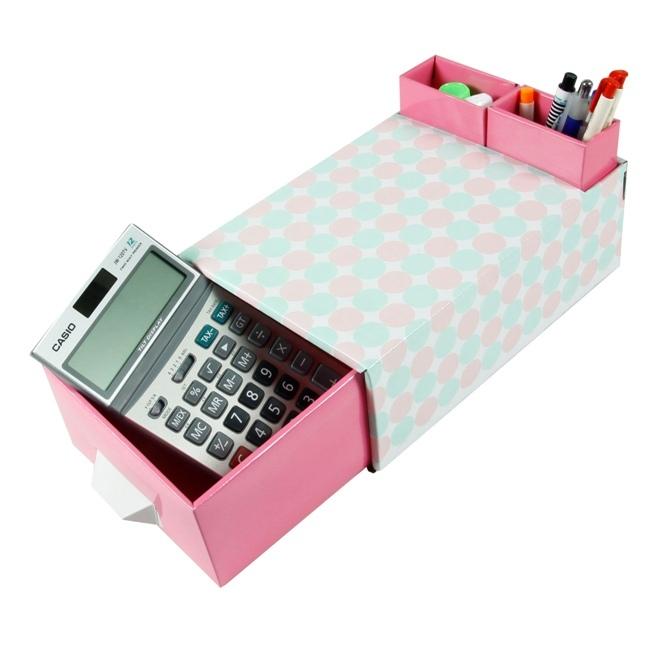 【DIY】床頭櫃造型桌面整理抽屜收納盒 (免運費)