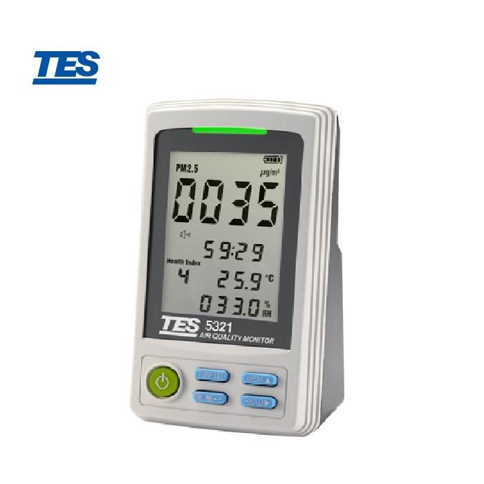泰仕TES-5321   PM2.5空氣品質監測計 TES-5321 (粉塵計)