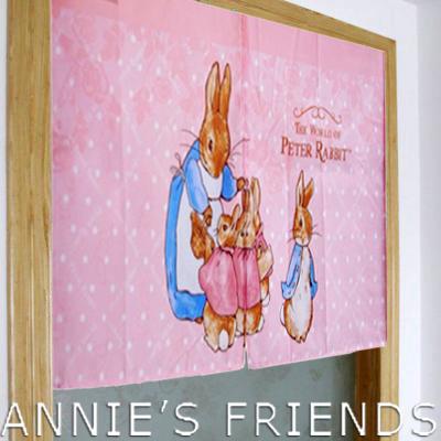 《Annie's Friends》 Peter Rabbit 比得兔兔媽媽玫瑰門簾