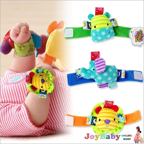 手腕鈴/手環/玩具可愛立體鈴鐺腕帶寶寶手錶帶嬰兒腕鈴手腕帶【JoyBaby】
