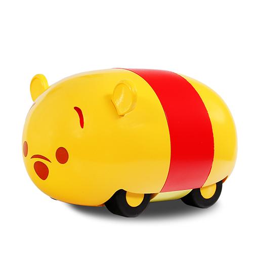 Tsum Tsum 變速旋風車系列-小熊維尼/ Tsum Tsum Spin Car/ 迴力車/ 迪士尼/ 展示盒/ 伯寶行