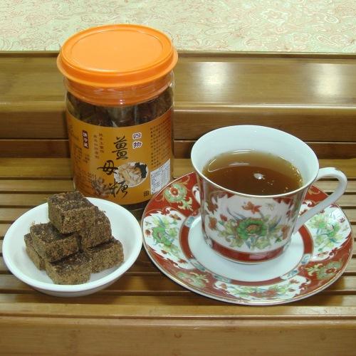 【啡茶不可】紅棗桂圓薑母糖(300g/瓶)