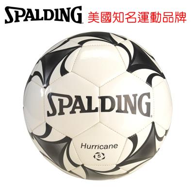 永昌文具【SPALDING】 斯伯丁 足球系列 SPA64718 TPU+EVA 合成皮足球(白黑) 5號 /個