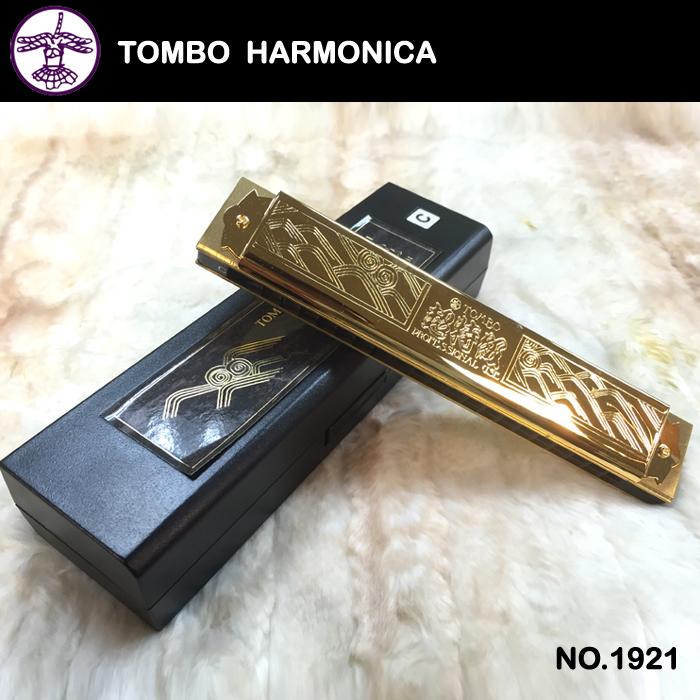 【非凡樂器】『TOMBO』蜻蜓牌超特級21孔木格複音口琴NO.1921/口琴界首席演奏家岩崎重昭監製的高級品