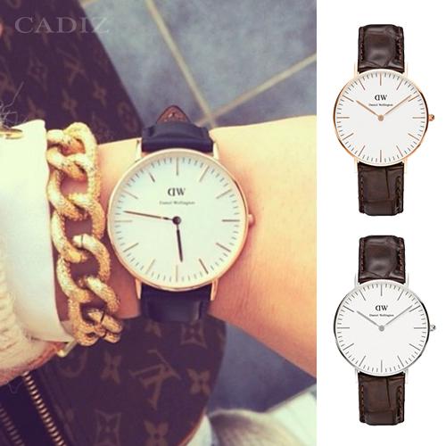 【Cadiz】瑞典DW手錶Daniel Wellington 0510DW玫瑰金 0610DW銀 York 36mm [代購/ 現貨]