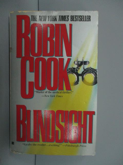 【書寶二手書T1/原文小說_NNW】Blindsight_Robin Cook