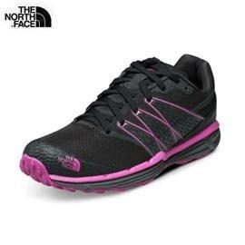 [ THE NORTH FACE ] 女 越野跑鞋 黑/莓紅 / 公司貨 NF00CXU8BCG