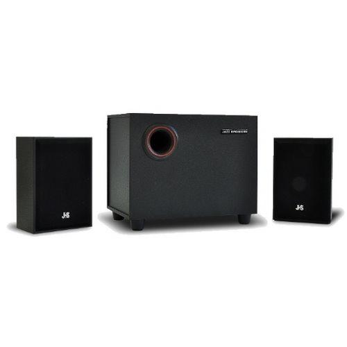 JS 淇譽 JY3025 2.1多媒體喇叭 1200W 全木質音箱 三件式喇叭