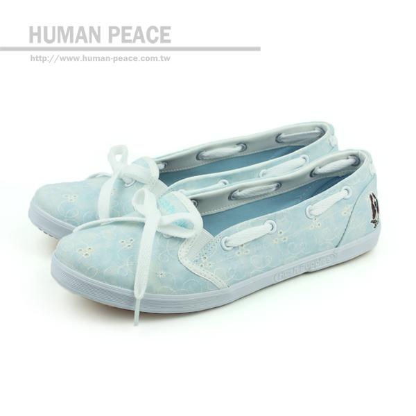 Hush Puppies 休閒鞋 藍 女款 no945