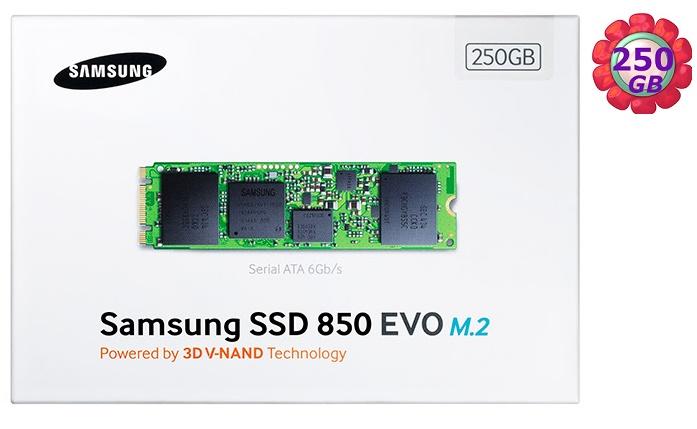 SAMSUNG SSD 850 EVO【M.2】250GB 250G MZ-N5E250BW SATA III Internal Solid State Drive 內接式 筆電固態硬碟
